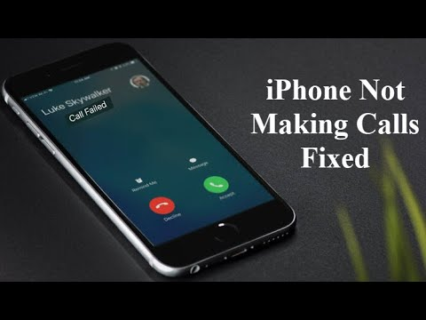 Fixed: iPhone Not Making Calls