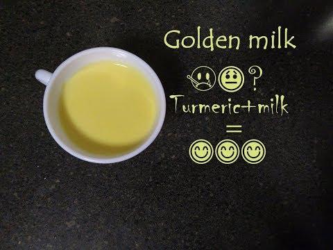 Golden milk for healthy living