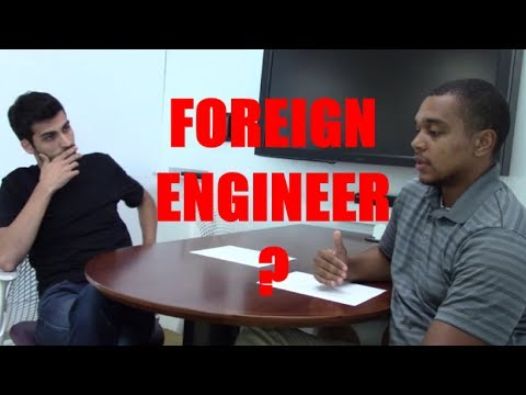 International/Foreign Engineer | PE Application and Career Advice