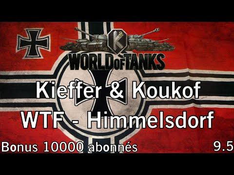 World of Tanks - 9.5 - WT auf E 100 - Bonus 10000 abonnés - (Partie commentée) FR 1080p