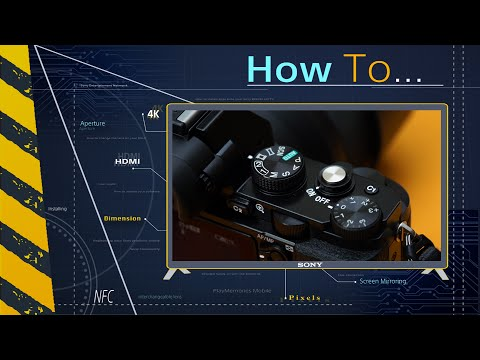 How to: Take photos with Sony's Remote Camera Control