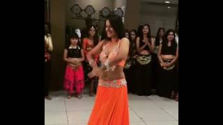 Meher Malik hot Belly Dance