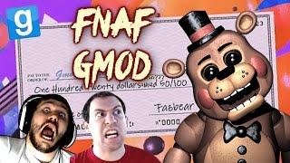 GOLDEN FREDDY GLITCHED! | FNAF 2 GMod Horror Map w/ Wade