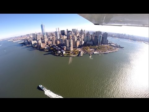 Florida to New York City - A Cessna 172 Adventure - HD