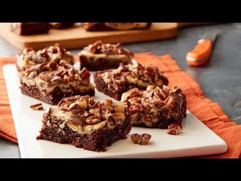Turtle Cheesecake Brownies | Betty Crocker Recipe