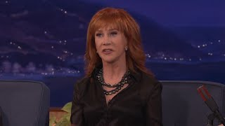 Kathy Griffin: Josh Groban Is A Man Whore  - CONAN on TBS