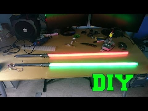 DIY Lightsaber with LED