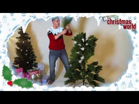 Artificial Hinged Christmas Tree - UK Christmas World