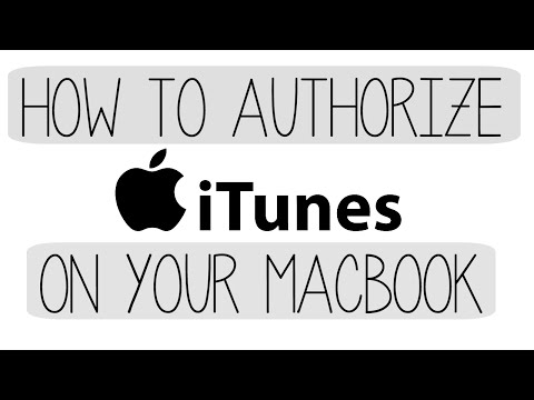How to Authorize iTunes on your Mac or MacBook 2017