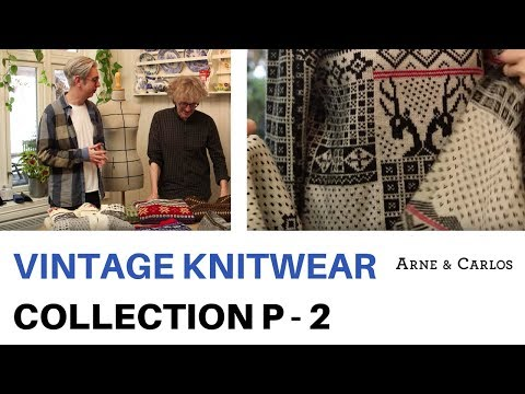 A tour of ARNE & CARLOS vintage knitwear collection Part 2