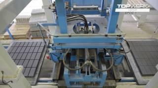Concrete block plant rh2000 barkman