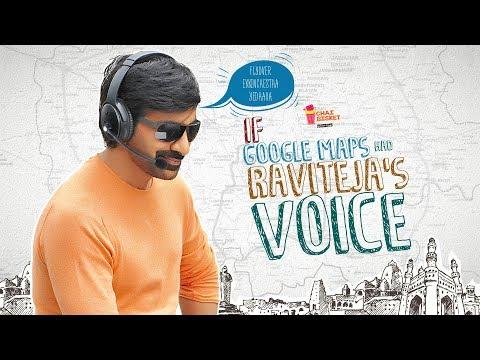 If Google Maps had Raviteja's Voice | Ft. Raviteja | Chai Bisket