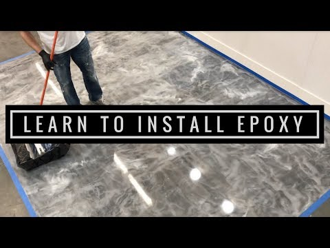 Learn To Install Metallic Epoxy Floors Like The Pros | Start To Finish