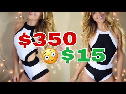 $15 vs $300 Swimsuit // Designer Swimsuit Dupes