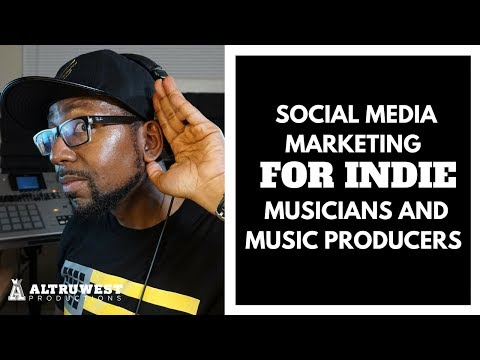 Beat Makers/Independent Artists - Tips on How to use Social Media Marketing