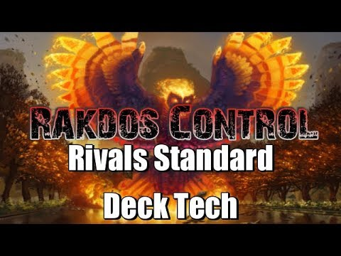 Mtg Deck Tech: B/R Control in Rivals of Ixalan Standard