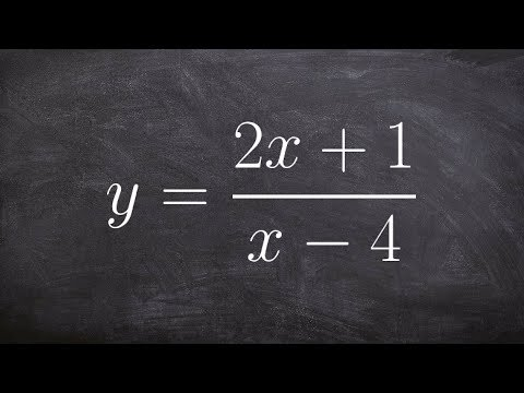 Find inverse of a rational equation then determine domain and range