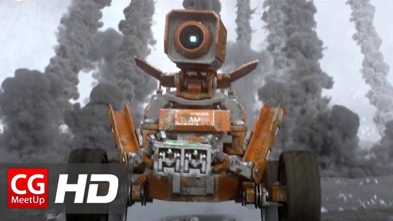 "CGI 3D Animation Short Film HD ""Planet Unknown"" by Shawn Wang   CGMeetup"