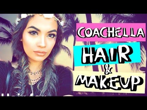 Festival Makeup and Hair for Coachella   Belinda Selene
