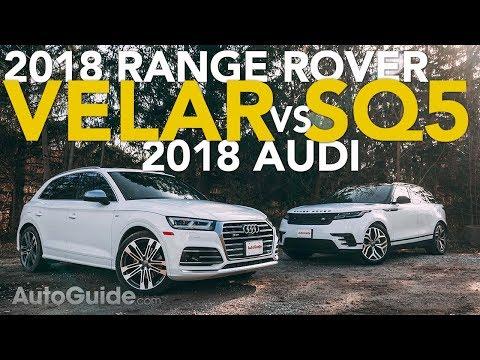 2018 Range Rover Velar vs Audi SQ5 Luxury CUV Comparison
