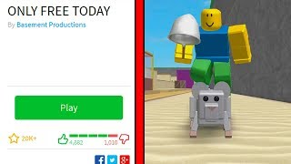 THIS GAME IS ONLY FREE TODAY! (Roblox)