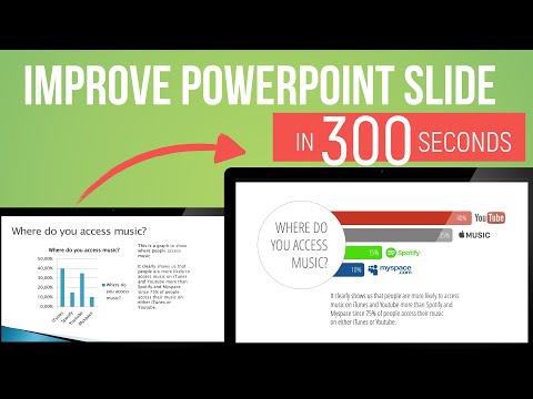 PowerPoint Slide Design in 300 seconds —Episode 2