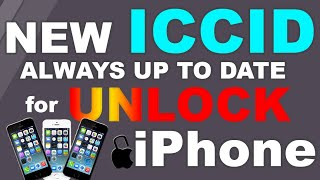 Unlock ANY iPhone UP to iOS 12 3 1 with RSIM NEW ICCID JULY 2019