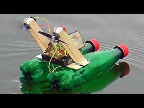 How to make a Battle Boat Using High Speed DC Motor