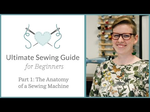 The Ultimate Sewing Guide for Beginners, Part 1: The Anatomy of a Sewing Machine