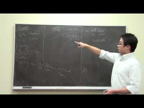 [HD] Freezing Point Depression in Non-Aqueous Solution