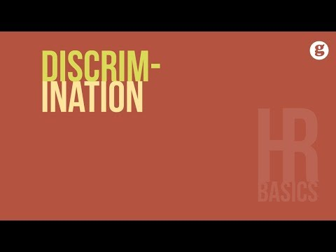 HR Basics: Discrimination