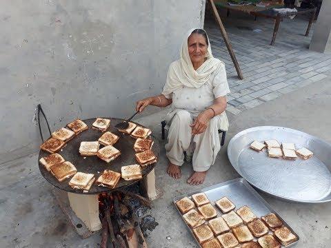 SANDWICH RECIPE prepared by MY GRANNY | sandwich recipe indian style | veg sandwich recipe in hindi