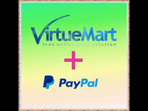 VirtueMart (Joomla 3) - Payment methods setup (PayPal)