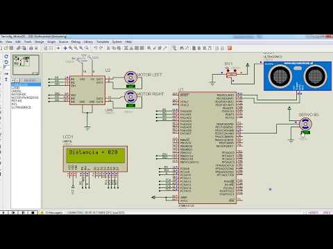 two DC motor speed control using AVR