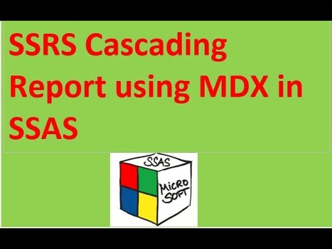 Cascade Parameters with MDX in SSRS Report using SSAS
