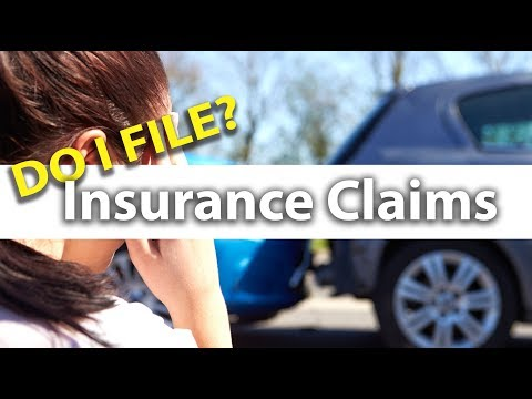 When Should You File an Insurance Claim!?
