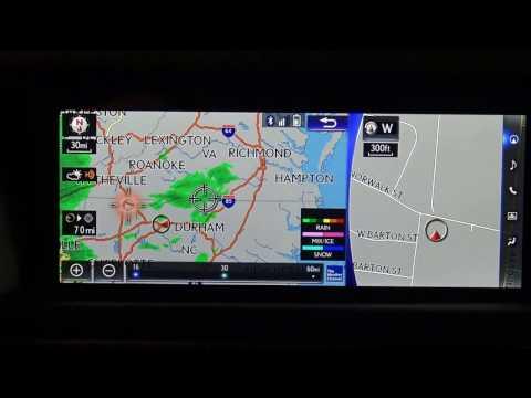 2017  / 2018 Lexus Navigation System Tutorial & Review