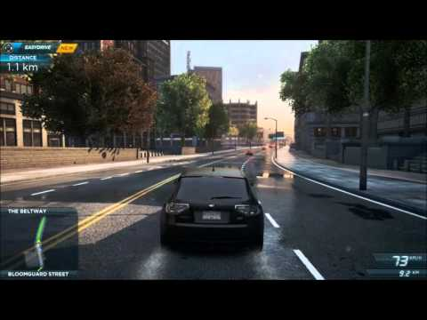 Need For Speed Most Wanted 2012 - Subaru WRX STi Cosworth [Test drive]