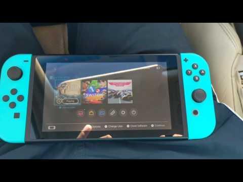 Neon Blue Joy Con for Nintendo Switch!