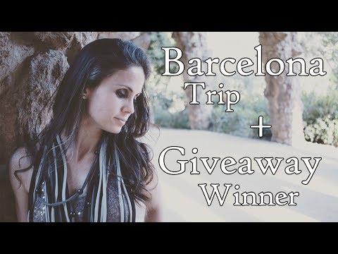 BARCELONA TRIP #2 | Best Barcelona Things to See + 2017 Giveaway Winner