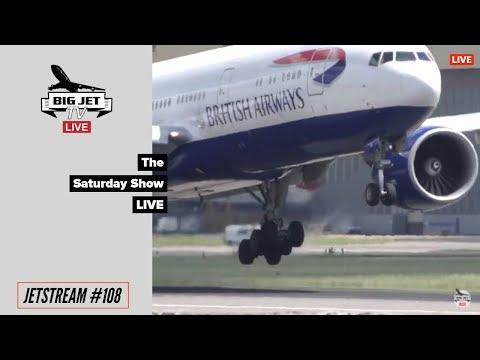 JETSTREAM #108: The Saturday Show LIVE! [02/6/18]. London Heathrow Airport