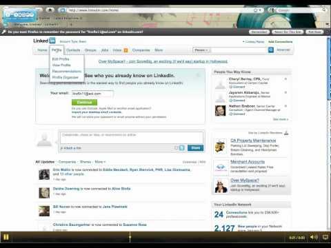 Asking for Endorsements on LinkedIN 1