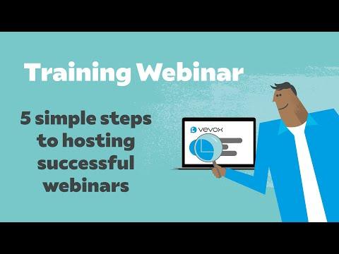 5 Simple Steps to Hosting Successful Webinars