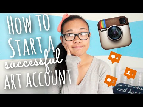 How to Start a Successful Art Instagram Account + How to Gain Followers | SimplyMaci