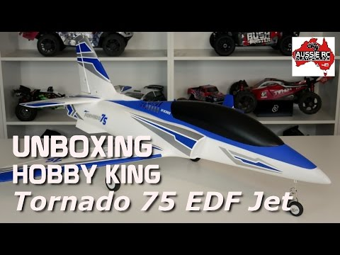 Unboxing/Build: Hobby King Tornado 75 EDF Jet