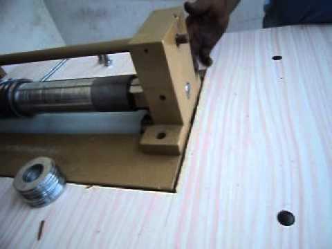 LEATHER  STRAP CUTTING MACHINE V6