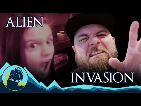 WE WERE ATTACKED BY ALIENS!!!