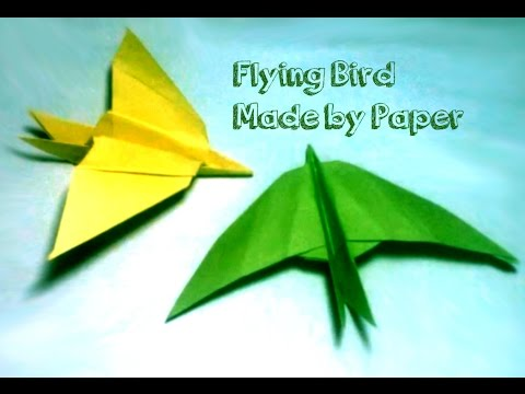 How to Make a Paper Flying Bird | Origami Bird | A Simple Paper Bird