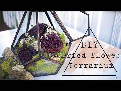 DIY: Dried Flower Terrarium