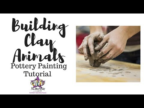 How To Build Clay Animals | As You Wish Pottery Painting Place